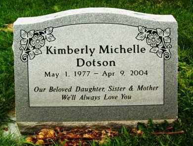 DOTSON, KIMBERLY MICHELLE - Boulder County, Colorado | KIMBERLY MICHELLE DOTSON - Colorado Gravestone Photos