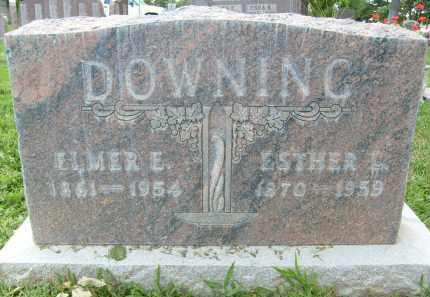 DOWNING, ELMER E. - Boulder County, Colorado   ELMER E. DOWNING - Colorado Gravestone Photos