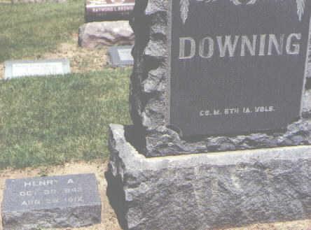DOWNING, HENRY A. - Boulder County, Colorado | HENRY A. DOWNING - Colorado Gravestone Photos