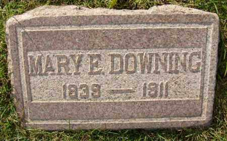 DOWNING, MARY E. - Boulder County, Colorado | MARY E. DOWNING - Colorado Gravestone Photos