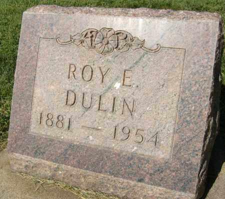 DULIN, ROY E. - Boulder County, Colorado   ROY E. DULIN - Colorado Gravestone Photos