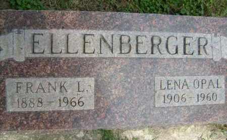ELLENBERGER, FRANK L. - Boulder County, Colorado | FRANK L. ELLENBERGER - Colorado Gravestone Photos