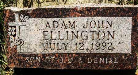 ELLINGTON, ADAM JOHN - Boulder County, Colorado   ADAM JOHN ELLINGTON - Colorado Gravestone Photos