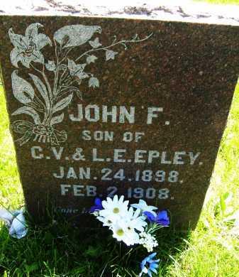 EPLEY, JOHN F. - Boulder County, Colorado | JOHN F. EPLEY - Colorado Gravestone Photos