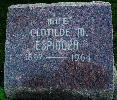 ESPINOZA, CLOTILDE M. - Boulder County, Colorado | CLOTILDE M. ESPINOZA - Colorado Gravestone Photos