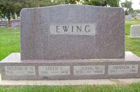 EWING, JOHN N. - Boulder County, Colorado   JOHN N. EWING - Colorado Gravestone Photos