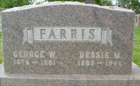 FARRIS, GEORGE W. - Boulder County, Colorado | GEORGE W. FARRIS - Colorado Gravestone Photos