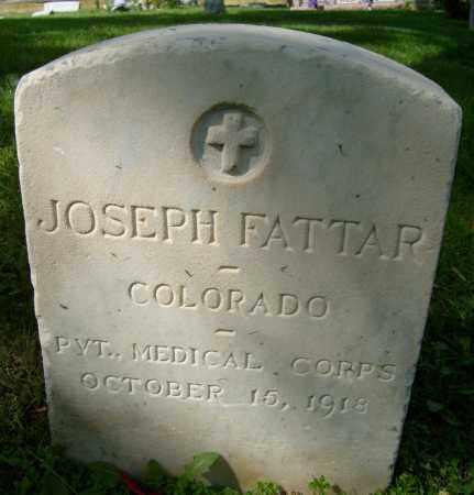 FATTAR, JOSEPH - Boulder County, Colorado | JOSEPH FATTAR - Colorado Gravestone Photos