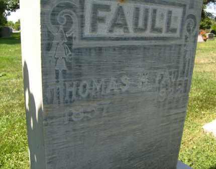 FAULL, THOMAS H. - Boulder County, Colorado | THOMAS H. FAULL - Colorado Gravestone Photos