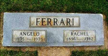 FERRARI, ANGELO - Boulder County, Colorado | ANGELO FERRARI - Colorado Gravestone Photos