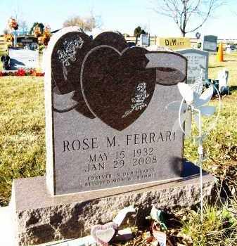 FERRARI, ROSE M. - Boulder County, Colorado | ROSE M. FERRARI - Colorado Gravestone Photos
