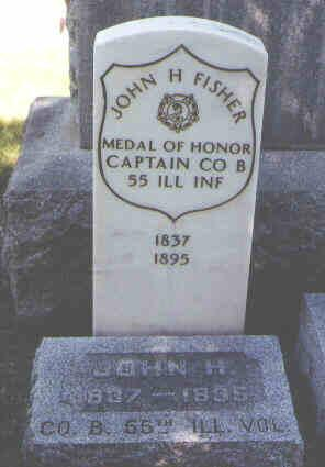 FISHER, JOHN H. - Boulder County, Colorado | JOHN H. FISHER - Colorado Gravestone Photos