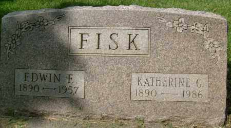 FISK, EDWIN E. - Boulder County, Colorado   EDWIN E. FISK - Colorado Gravestone Photos