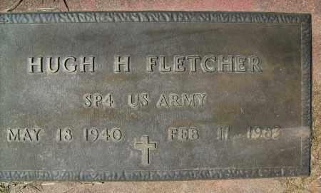 FLETCHER, HUGH H. - Boulder County, Colorado   HUGH H. FLETCHER - Colorado Gravestone Photos