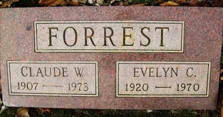 FORREST, CLAUDE W. - Boulder County, Colorado | CLAUDE W. FORREST - Colorado Gravestone Photos