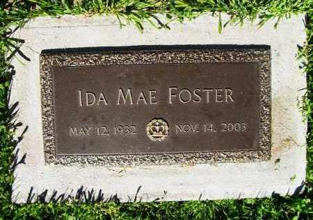 FOSTER, IDA MAE - Boulder County, Colorado   IDA MAE FOSTER - Colorado Gravestone Photos
