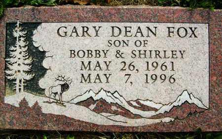 FOX, GARY DEAN - Boulder County, Colorado | GARY DEAN FOX - Colorado Gravestone Photos