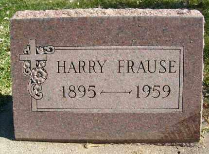 FRAUSE, HARRY - Boulder County, Colorado | HARRY FRAUSE - Colorado Gravestone Photos