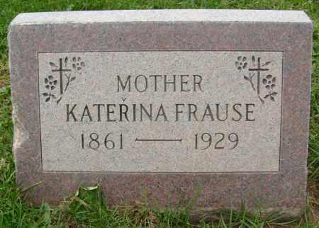 FRAUSE, KATERINA - Boulder County, Colorado | KATERINA FRAUSE - Colorado Gravestone Photos