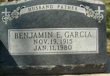 GARCIA, BENJAMIN E. - Boulder County, Colorado   BENJAMIN E. GARCIA - Colorado Gravestone Photos