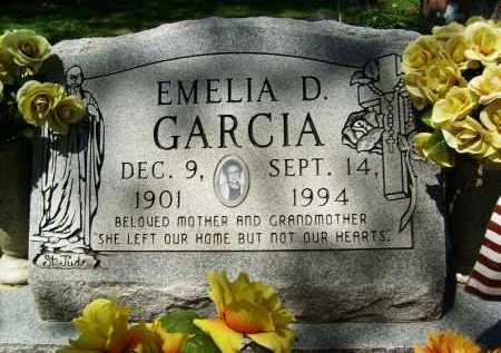GARCIA, EMELIA D. - Boulder County, Colorado | EMELIA D. GARCIA - Colorado Gravestone Photos