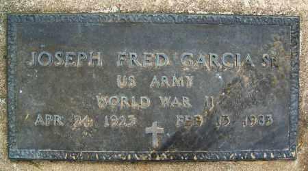 GARCIA, JOSEPH FRED, SR. - Boulder County, Colorado   JOSEPH FRED, SR. GARCIA - Colorado Gravestone Photos