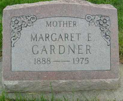 GARDNER, MARGARET E. - Boulder County, Colorado | MARGARET E. GARDNER - Colorado Gravestone Photos