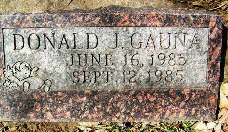 GAUNA, DONALD J. - Boulder County, Colorado | DONALD J. GAUNA - Colorado Gravestone Photos