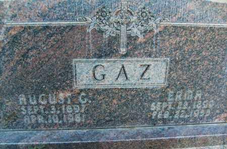 GAZ, AUGUST G. - Boulder County, Colorado | AUGUST G. GAZ - Colorado Gravestone Photos