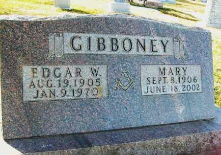 GIBBONEY, MARY - Boulder County, Colorado | MARY GIBBONEY - Colorado Gravestone Photos