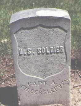 GILDERSLEEVES, A. - Boulder County, Colorado   A. GILDERSLEEVES - Colorado Gravestone Photos