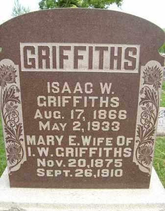 GRIFFITHS, ISAAC W. - Boulder County, Colorado | ISAAC W. GRIFFITHS - Colorado Gravestone Photos