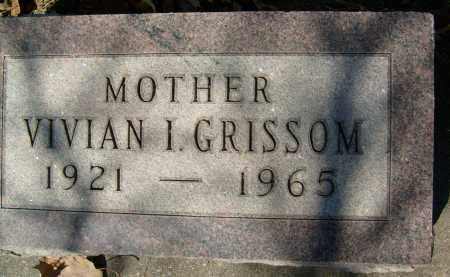 GRISSOM, VIVIAN I. - Boulder County, Colorado | VIVIAN I. GRISSOM - Colorado Gravestone Photos