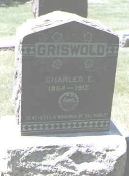 GRISWOLD, CHARLES E. - Boulder County, Colorado | CHARLES E. GRISWOLD - Colorado Gravestone Photos
