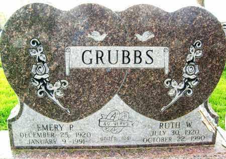 GRUBBS, EMERY P. - Boulder County, Colorado   EMERY P. GRUBBS - Colorado Gravestone Photos