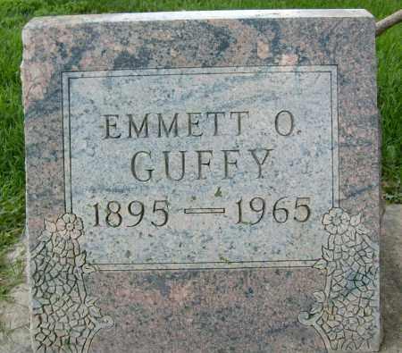 GUFFY, EMMETT O. - Boulder County, Colorado   EMMETT O. GUFFY - Colorado Gravestone Photos