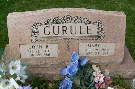 GURULE, JOHN B. - Boulder County, Colorado   JOHN B. GURULE - Colorado Gravestone Photos