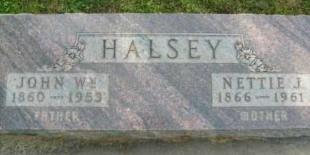 HALSEY, JOHN WM. - Boulder County, Colorado | JOHN WM. HALSEY - Colorado Gravestone Photos