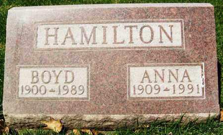 HAMILTON, BOYD - Boulder County, Colorado   BOYD HAMILTON - Colorado Gravestone Photos