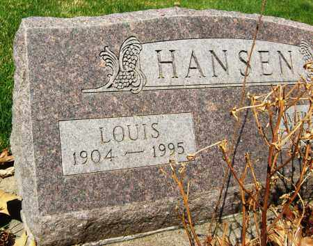 HANSEN, LOUIS - Boulder County, Colorado | LOUIS HANSEN - Colorado Gravestone Photos