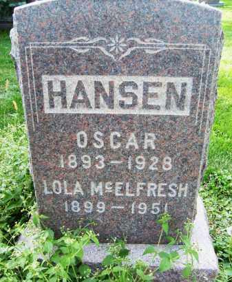 HANSEN, OSCAR - Boulder County, Colorado | OSCAR HANSEN - Colorado Gravestone Photos