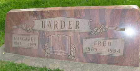 HARDER, FRED - Boulder County, Colorado | FRED HARDER - Colorado Gravestone Photos