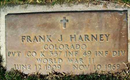 HARNEY, FRANK J. - Boulder County, Colorado   FRANK J. HARNEY - Colorado Gravestone Photos