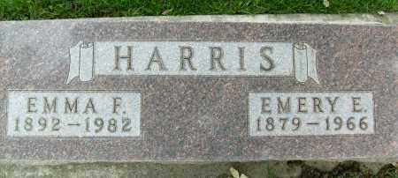 HARRIS, EMMA F. - Boulder County, Colorado | EMMA F. HARRIS - Colorado Gravestone Photos