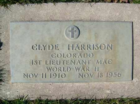 HARRISON, CLYDE - Boulder County, Colorado   CLYDE HARRISON - Colorado Gravestone Photos
