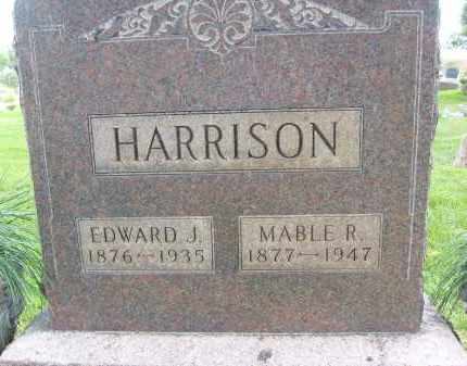 HARRISON, EDWARD J. - Boulder County, Colorado | EDWARD J. HARRISON - Colorado Gravestone Photos
