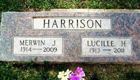 HARRISON, MERWIN J. - Boulder County, Colorado | MERWIN J. HARRISON - Colorado Gravestone Photos