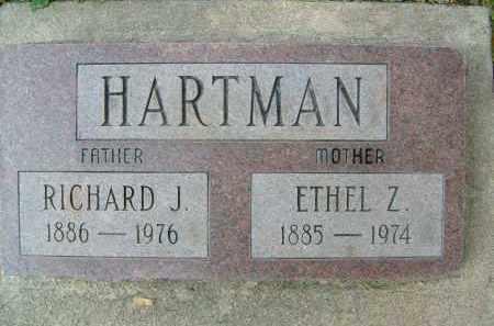 HARTMAN, ETHEL Z. - Boulder County, Colorado   ETHEL Z. HARTMAN - Colorado Gravestone Photos