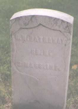 HATHAWAY, G. W. - Boulder County, Colorado   G. W. HATHAWAY - Colorado Gravestone Photos