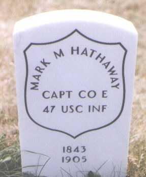 HATHAWAY, MARK M. - Boulder County, Colorado | MARK M. HATHAWAY - Colorado Gravestone Photos